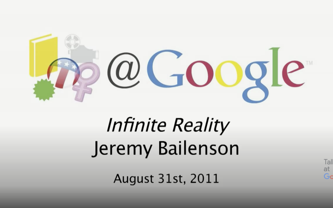Infinite Reality: Revealing the Blueprints of our Virtual Lives | Talks at Google