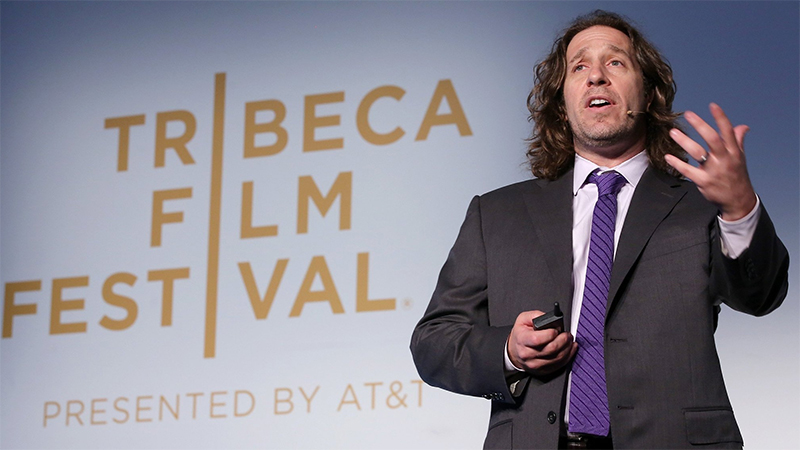 Jeremy Bailenson at hte Tribeca film festival