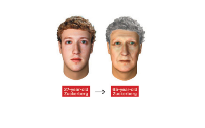 Face Reality with Age-Morphed Photos, Wired Magazine