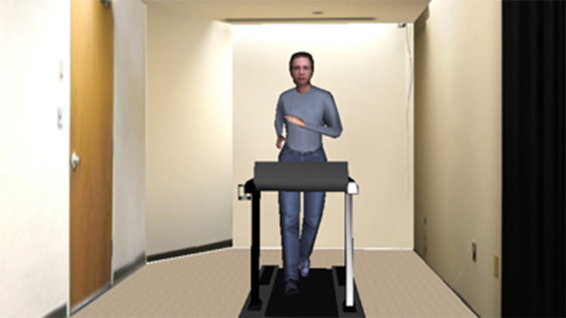 Avatar on Treadmill