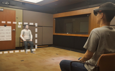 VHIL research examines how augmented reality affects people's behavior, Stanford News