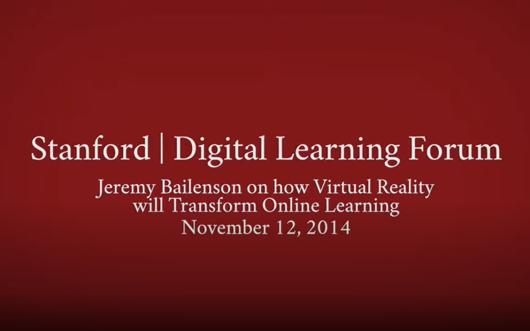 Stanford Digital Learning Forum